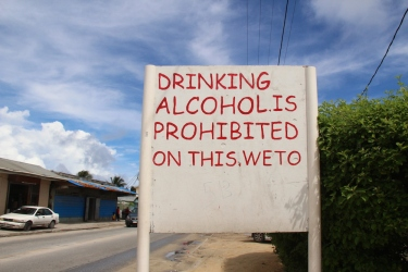 No alcohol in this weto