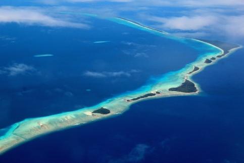 Landing into Marshall Islands 10