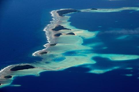 Landing into Marshall Islands 11