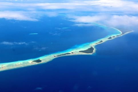 Landing into Marshall Islands 12