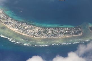 Landing into Marshall Islands 13