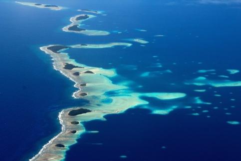 Landing into Marshall Islands 6