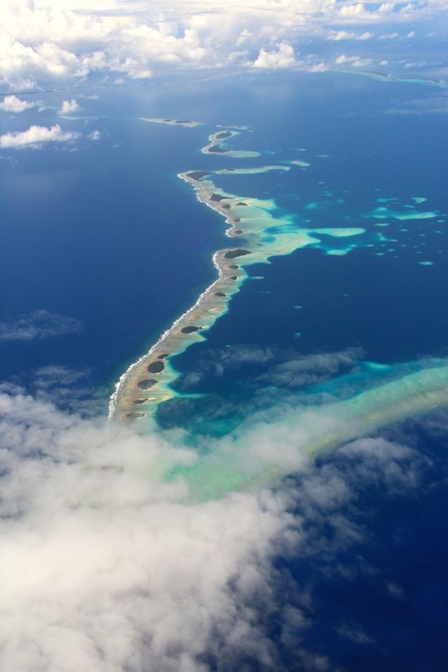 Landing into Marshall Islands 7