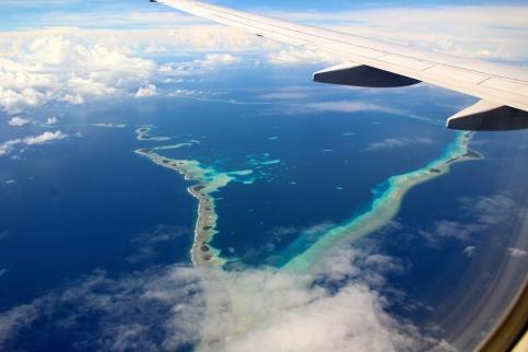 Landing into Marshall Islands 8