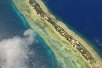Landing into Marshall Islands1