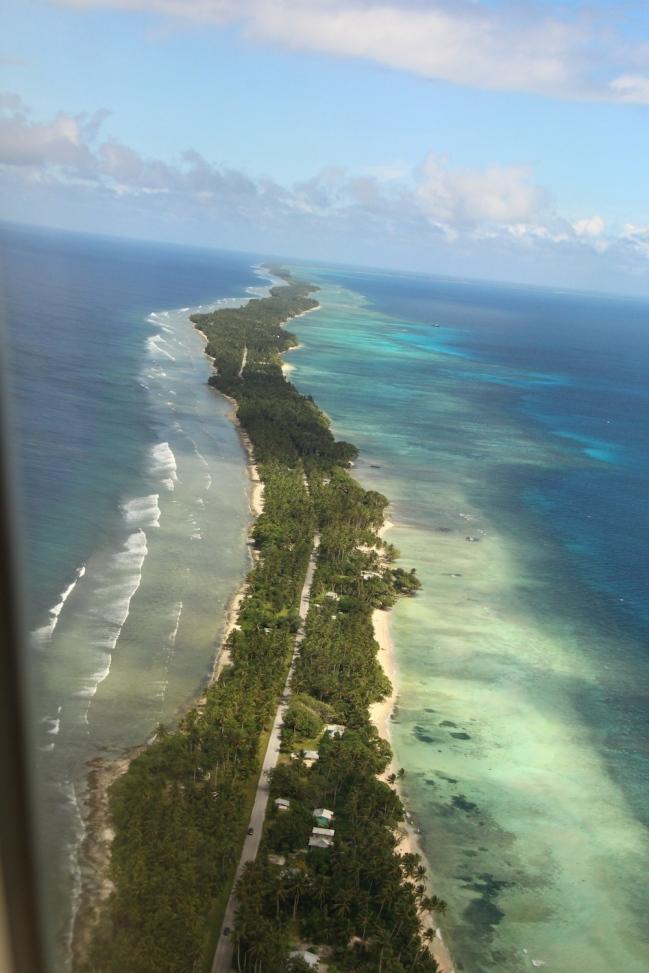 Landing into Marshall Islands3