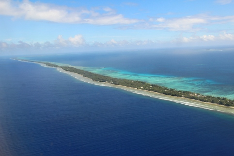 Landing into Marshall Islands4
