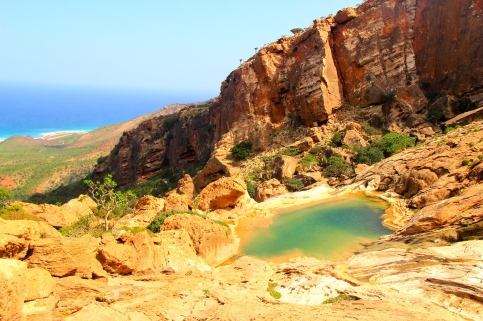 Exceptionally beautiful wadi with a fabulous vista
