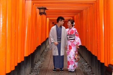 Inside Fushimi-Inari Taisha