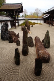 Zen garden at Tofukuji Temple