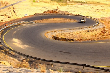 Yemeni landscape is full of sexy curves