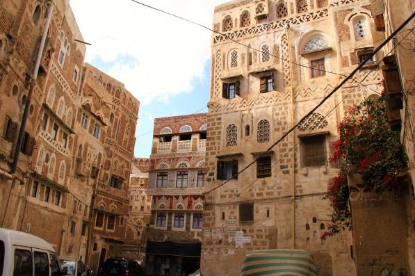 Inside old Sana'a