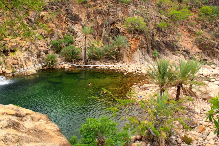Ayhaft Canyon National Park - another freshwater pool