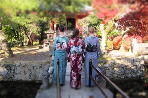 Three geisha