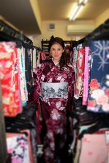 In a kimono paradise