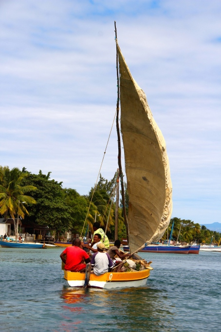 Local dhow boat