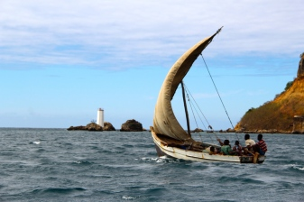 Another dhow boat