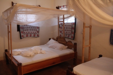 Bagamoyo Spice Villa, affordable and good standard.