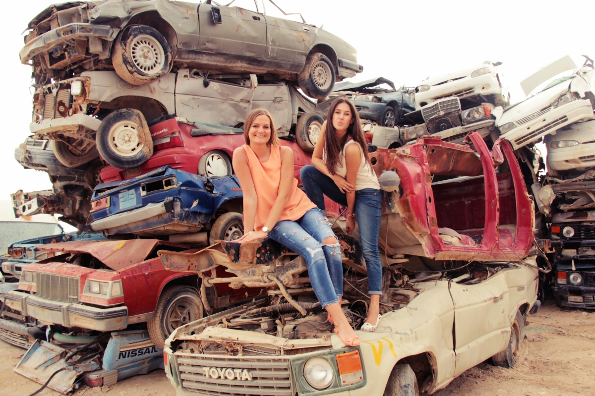 Qatar: The coolest car graveyard on Earth. – BON CHIC TRAVELS *